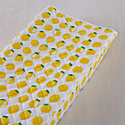 Farmer's Market Lemon Changing Pad Cover