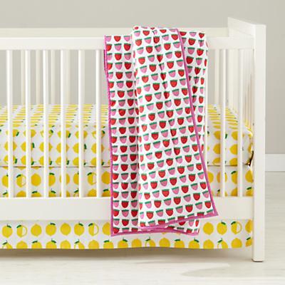 Farmer's Market Crib Sheet (Lemon)