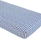 Farmer's Market Blueberry Print Crib Sheet