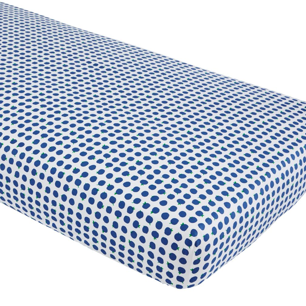 Farmer's Market Crib Sheet (Blueberry)