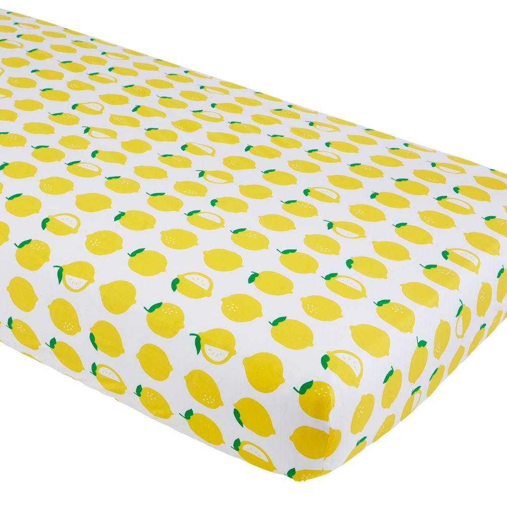 Farmer's Market Crib Sheet (Lemon)