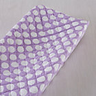 Purple with White Dot Changing Pad Cover