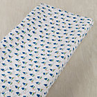 Blue Sailboat Print Changing Pad Cover