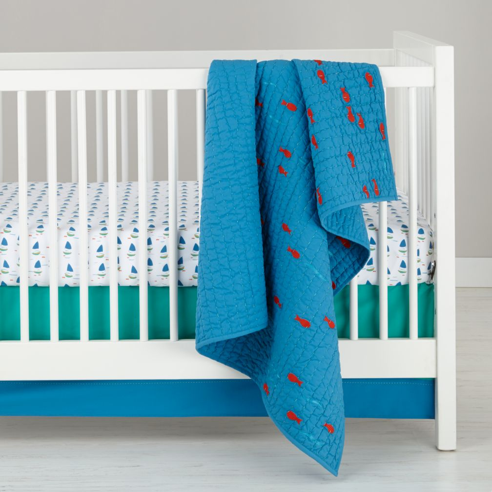 Open Water Crib Bedding