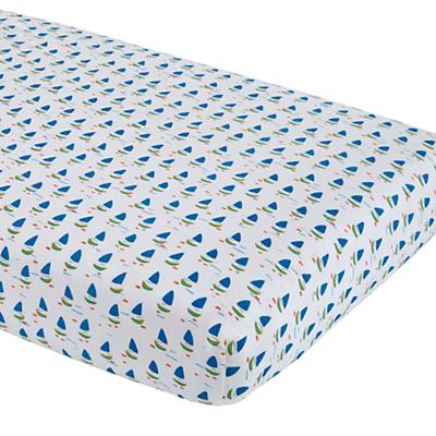 Open Water Fitted Crib Sheet