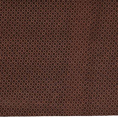 Brown Pick Stitch O's Crib Skirt
