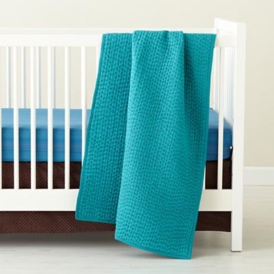Pick Stitch Crib Skirt