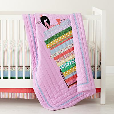 Princess and the Pea Crib Skirt