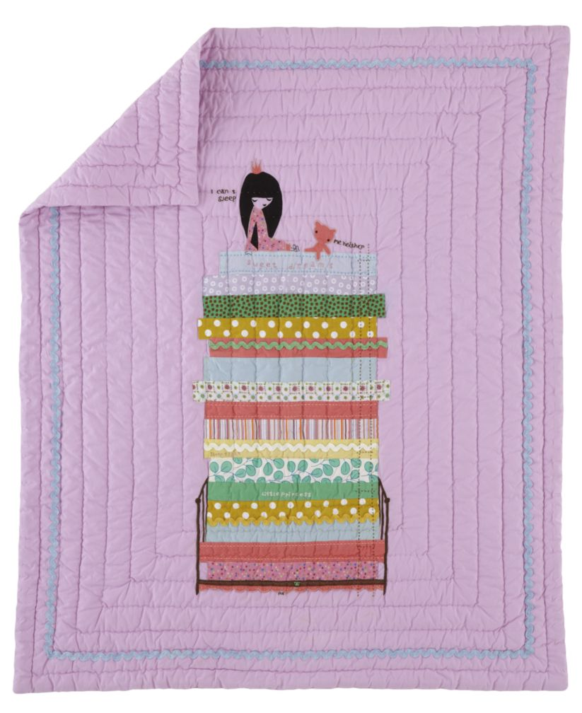 Princess and the Pea Crib Quilt