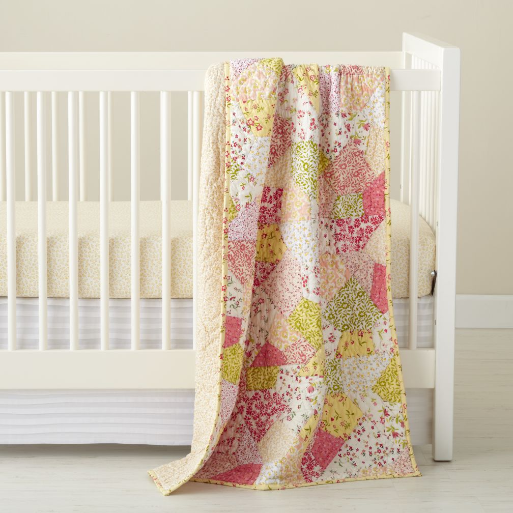 Puzzle Patch Crib Bedding