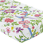 Multi Floral Rainsforest Crib Fitted Sheet