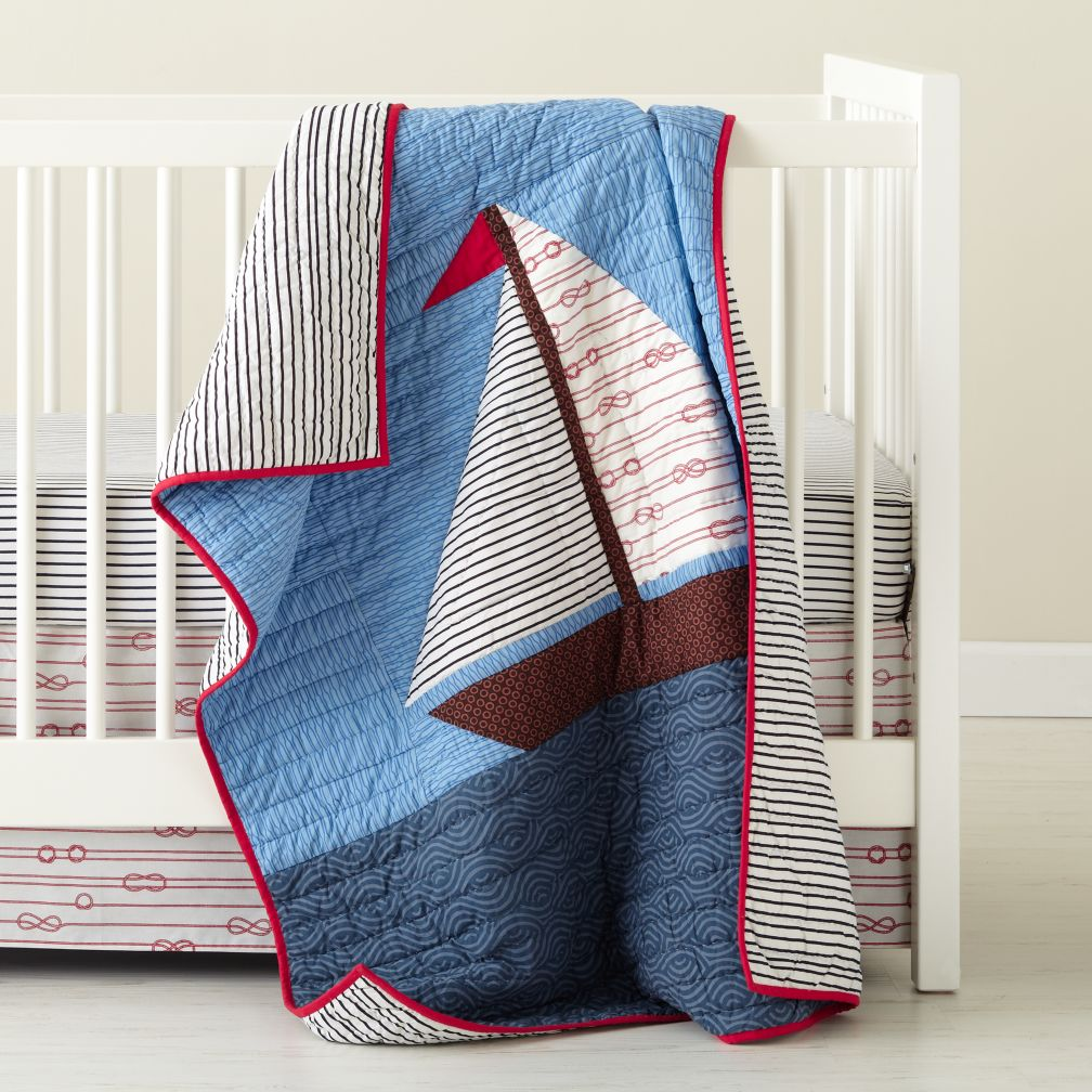 Sail On Crib Bedding