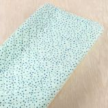 Sleep Tight Changing Pad Cover (Aqua Dot)