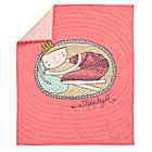 Pink Sleeping Princess Crib Quilt