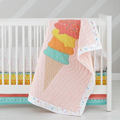 Sundae Best Crib Skirt