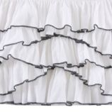 Swan Soiree Crib Skirt
