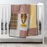 Tawny Scrawny Lion Crib Bedding