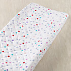 Multi Dot Tulip Fest Changing Pad Cover