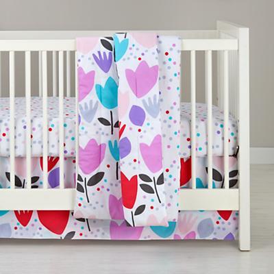 Tulip Festival Crib Bedding