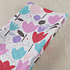 Floral Tulip Fest Changing Pad Cover