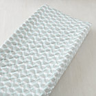 Blue Nested Acorn Changing Pad Cover