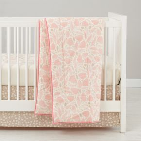 Well Nested Organic Baby Bedding (Pink)