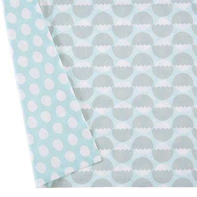 Well Nested Crib Skirt (Blue)
