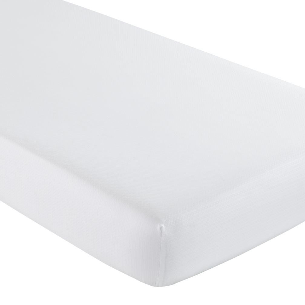 Crib Fitted Sheet (White)
