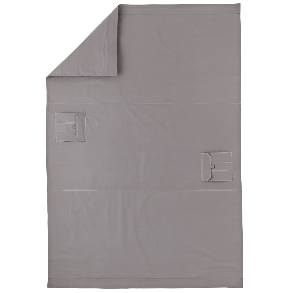 Grey Cargo Duvet Cover (Full-Queen)