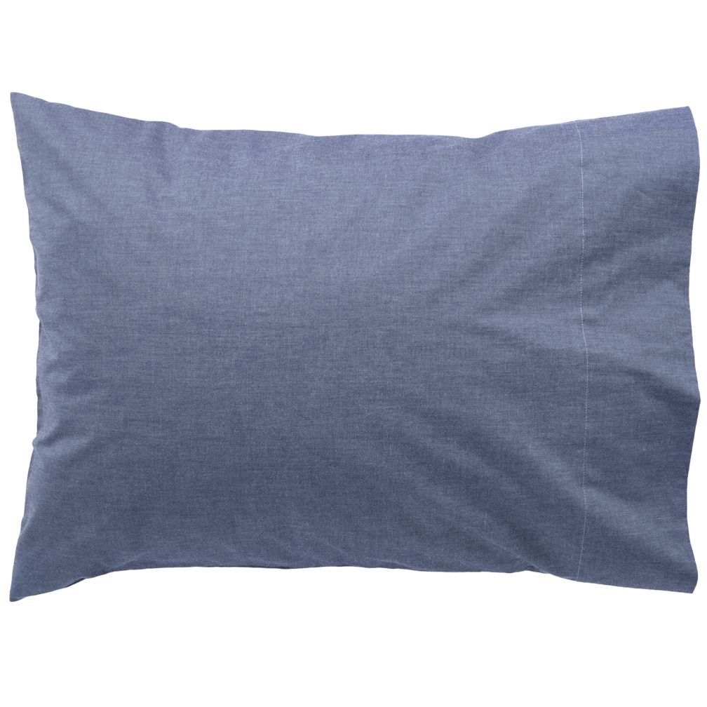 Blue Chambray Pillowcase