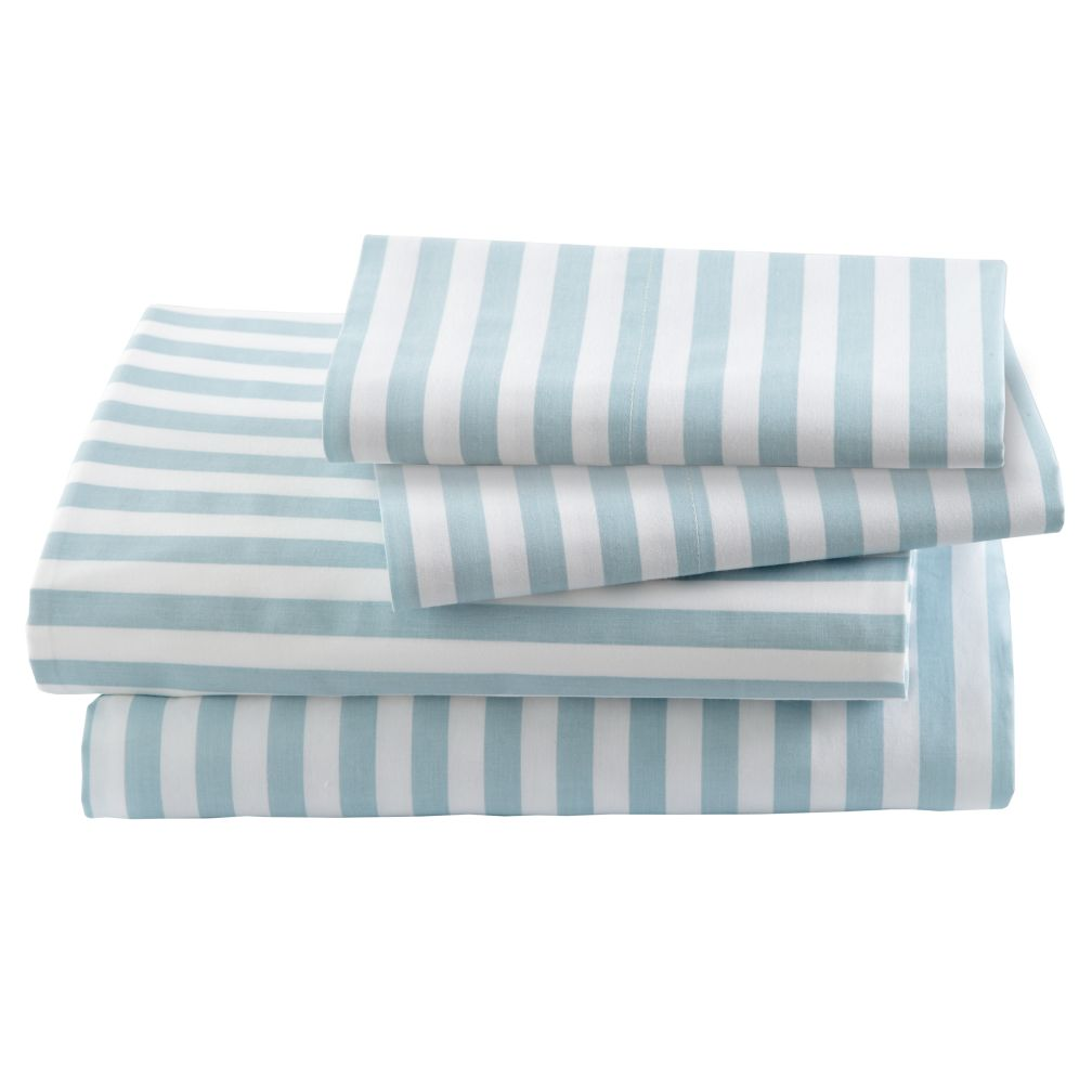 Blue Stripe Sheet Set (Full)