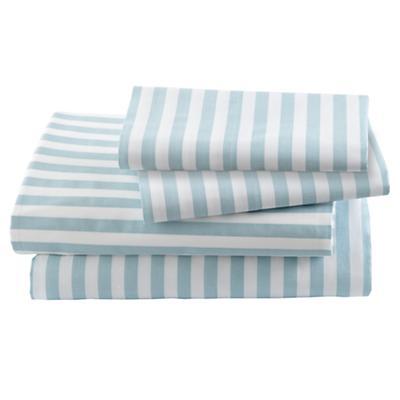 Blue Stripe Sheet Set (Full)