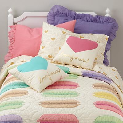 Confectionary  Sham (Pink)