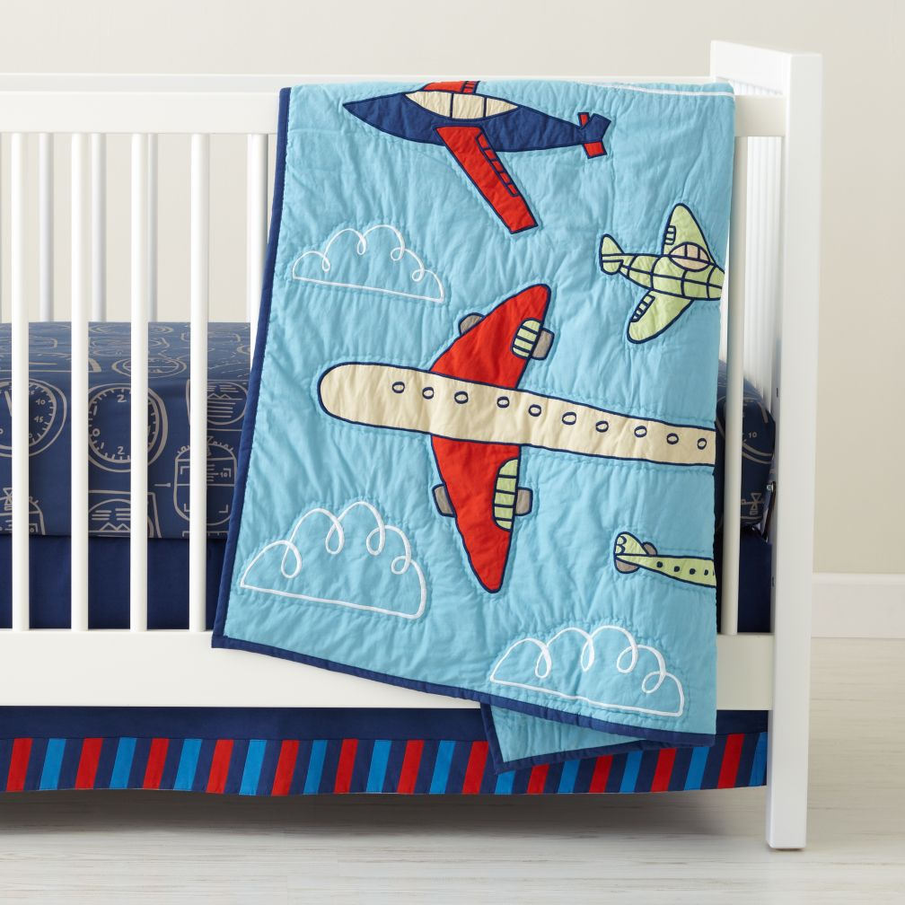 Come Fly With Me Crib Bedding