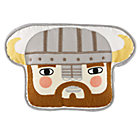 Viking Head Pillow