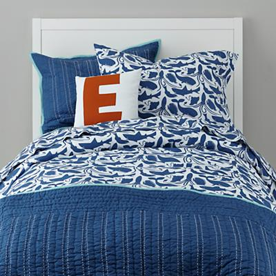 Deep Blue Bedding