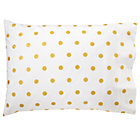 Gold Dot Pillowcase