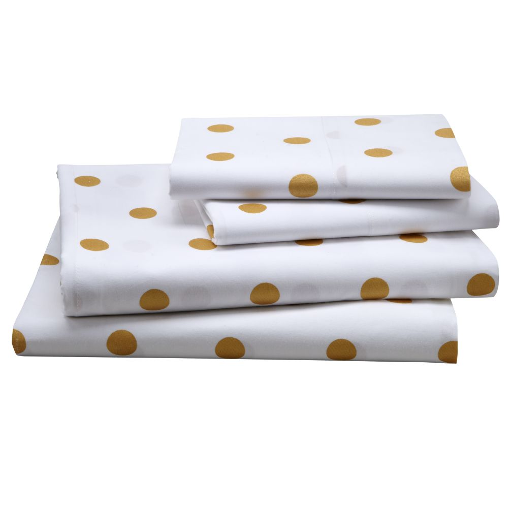 Gold Dot Sheet Set (Queen)