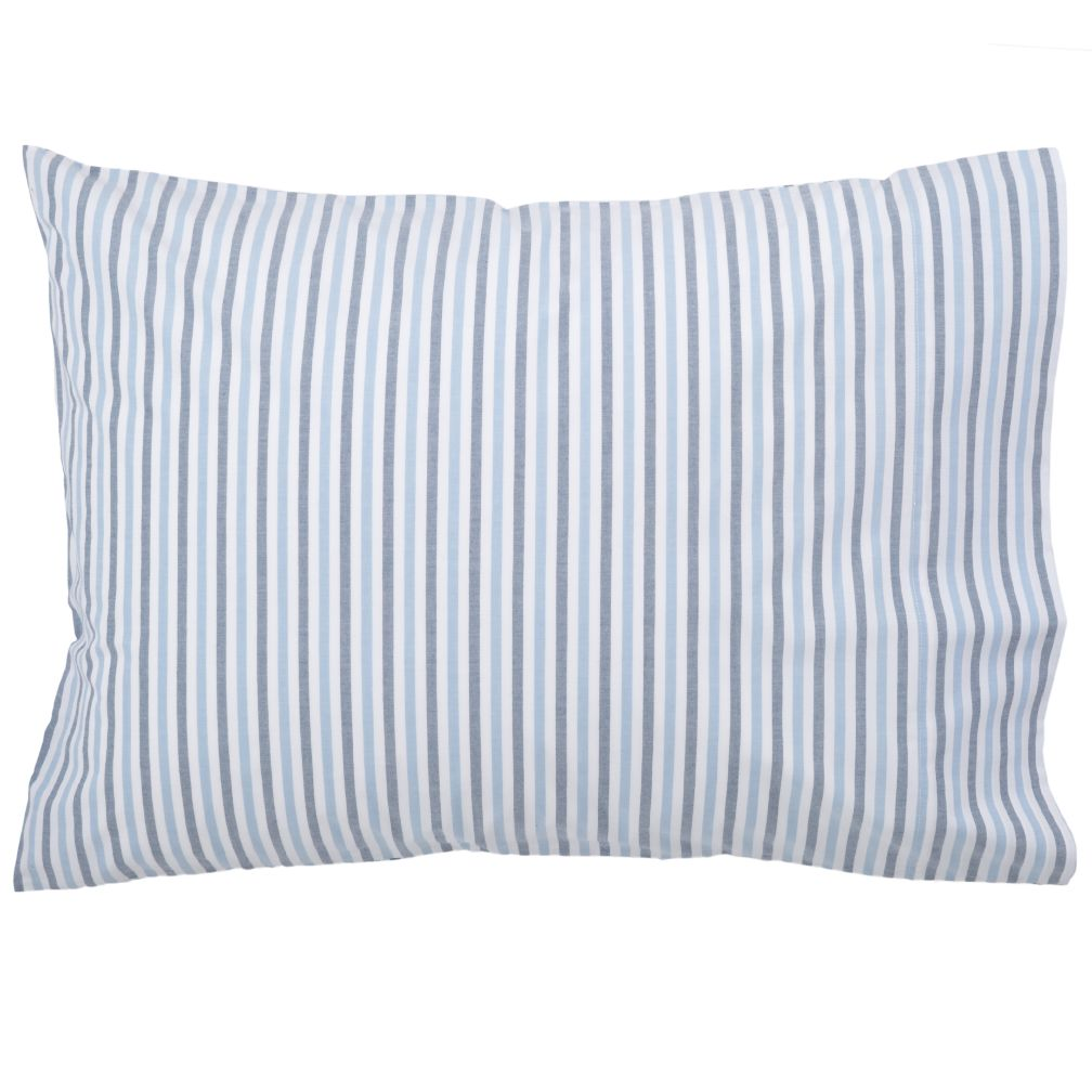 Breezy Stripe Dk. Blue Pillowcase