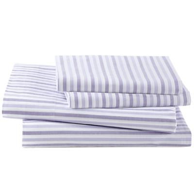 Breezy Stripe Lavender Sheet Set (Queen)