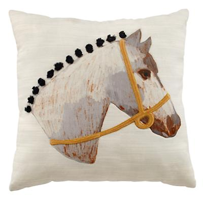 Equestrian Horse Throw Pillow