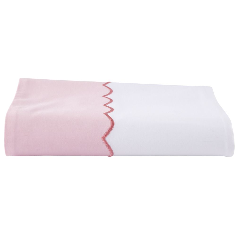 Extended Stay Pink Flat Sheet (Twin)