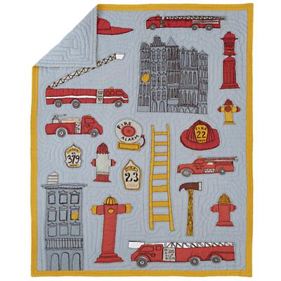 Fire Cadet Quilt (Twin)