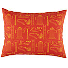 Fire Cadet Red Printed Sham