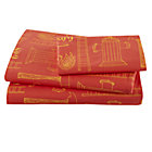 Twin Fire Cadet Sheet Set(includes 1 fitted sheet, 1 flat sheet and 1 case)