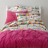 Hit the Town Kids Flannel Bedding