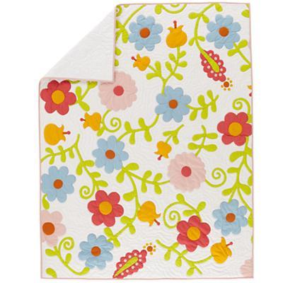 Full-Queen Garden Quilt