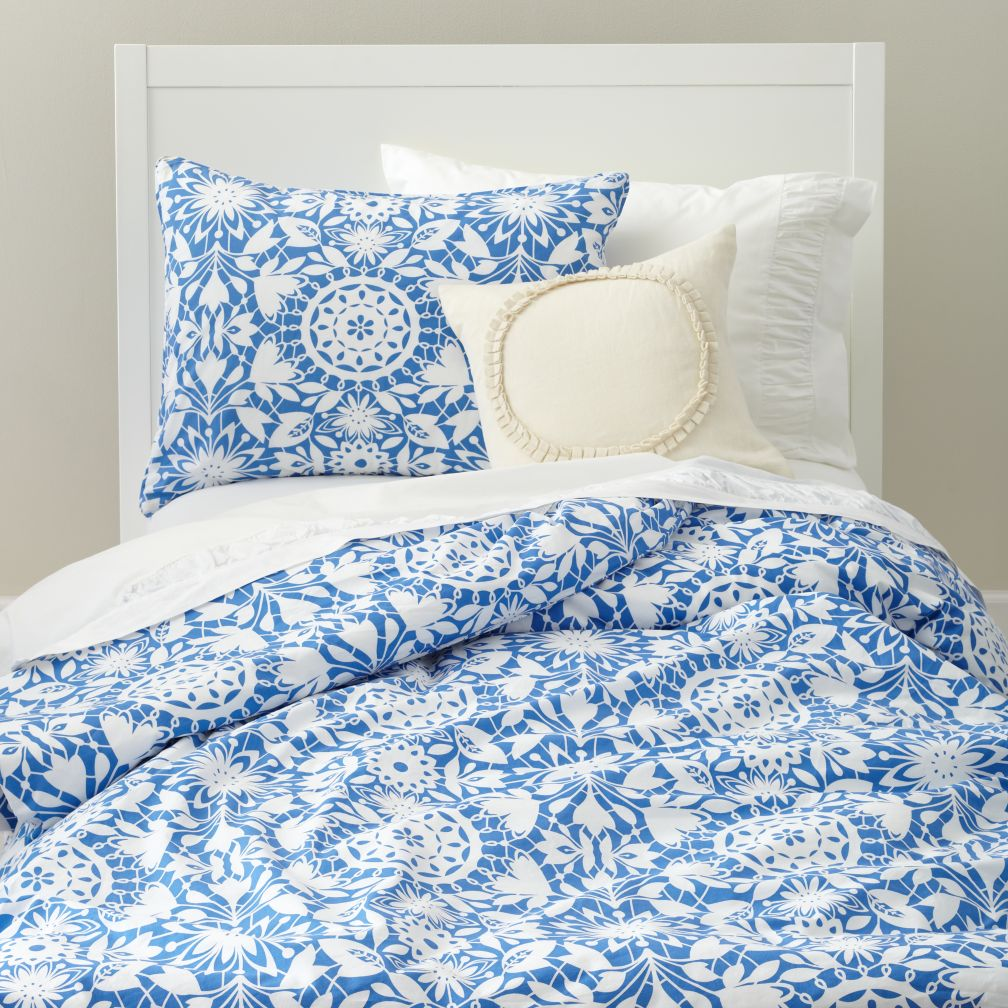 Tangled Up In Blue Duvet Cover
