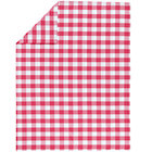 Full-Queen Hot Pink Gingham Duvet Cover