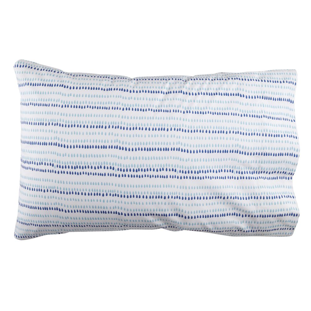 High Frequency Teardrop Pillowcase